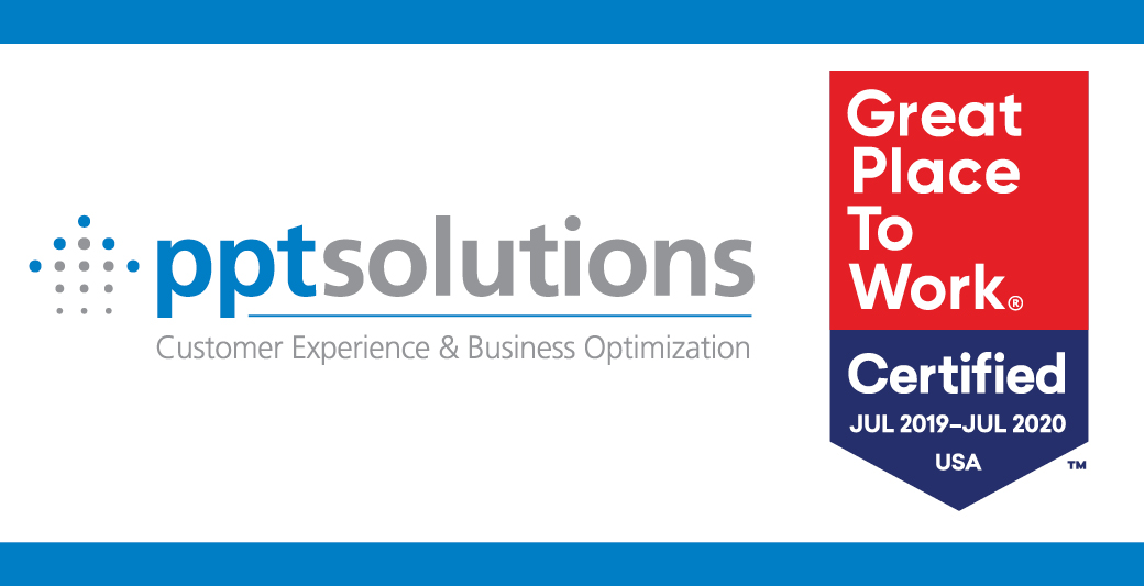 PPT Solutions Recognized as a Great Place to Work for a Second Consecutive Year
